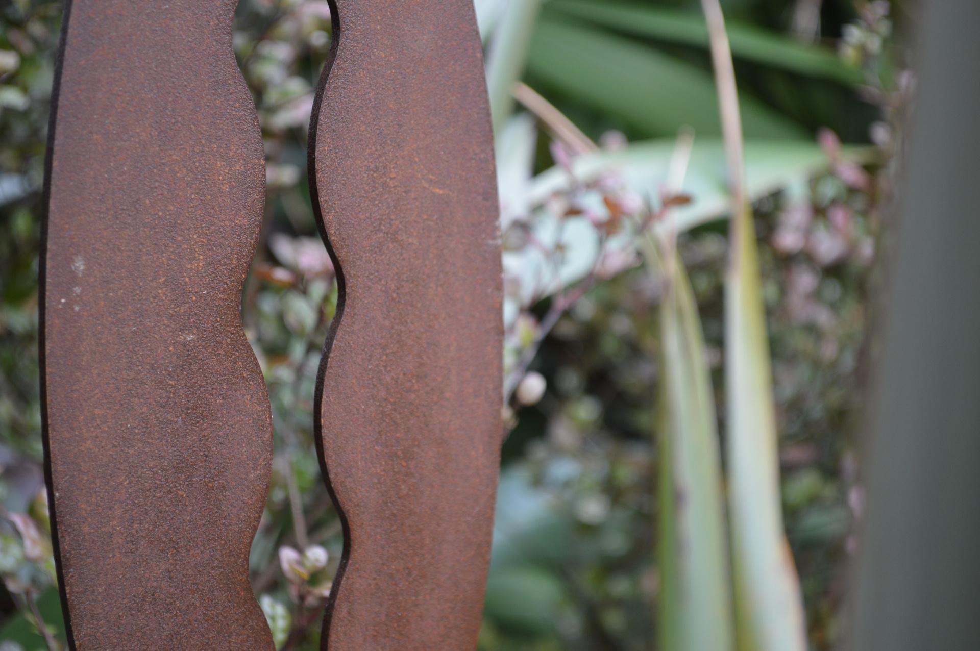 metal rust garden