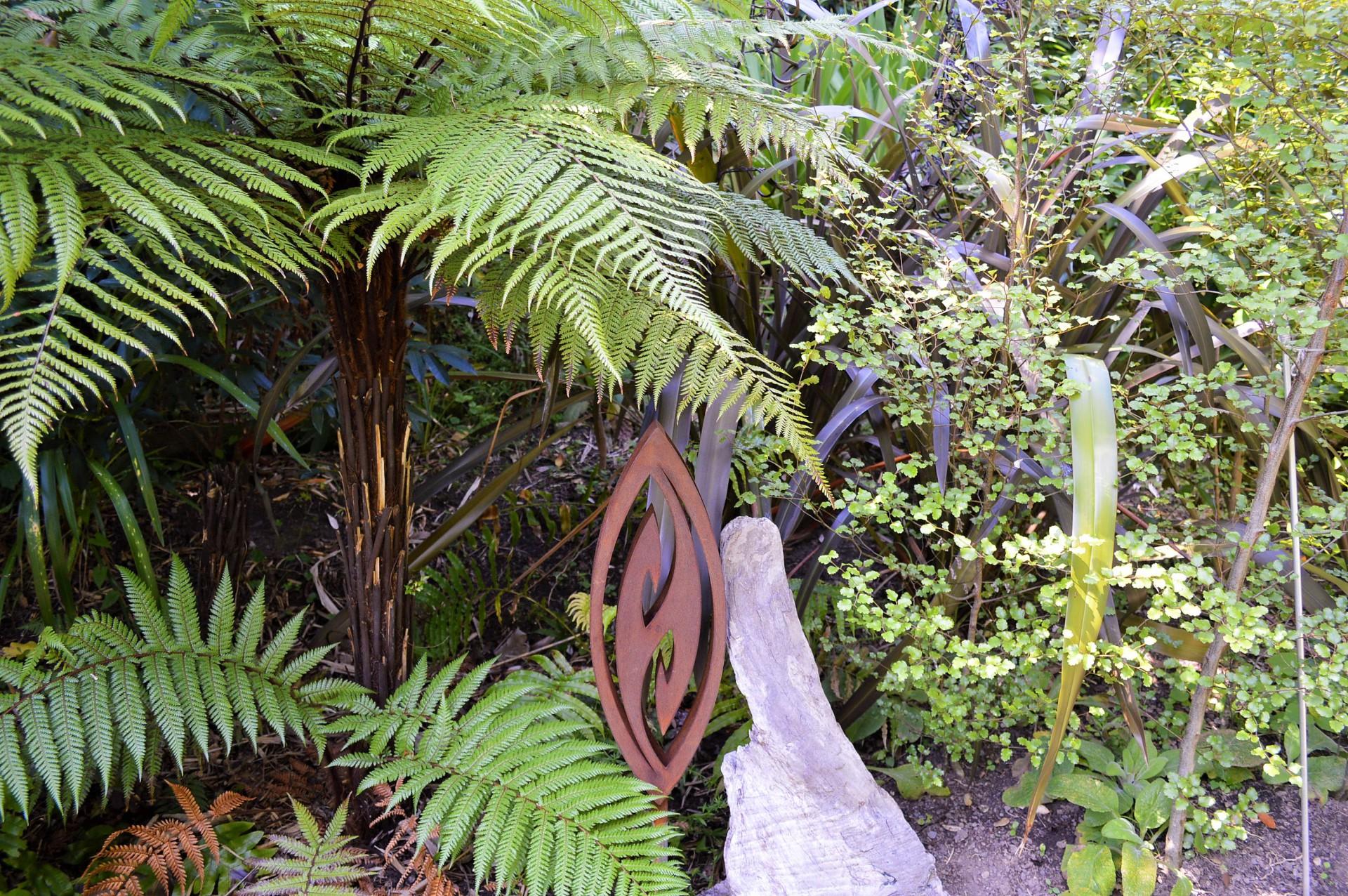 native garden art