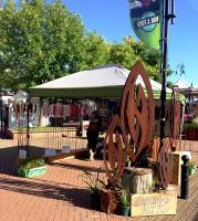grounded art nz market stall