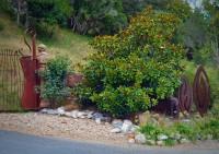 large garden art gates