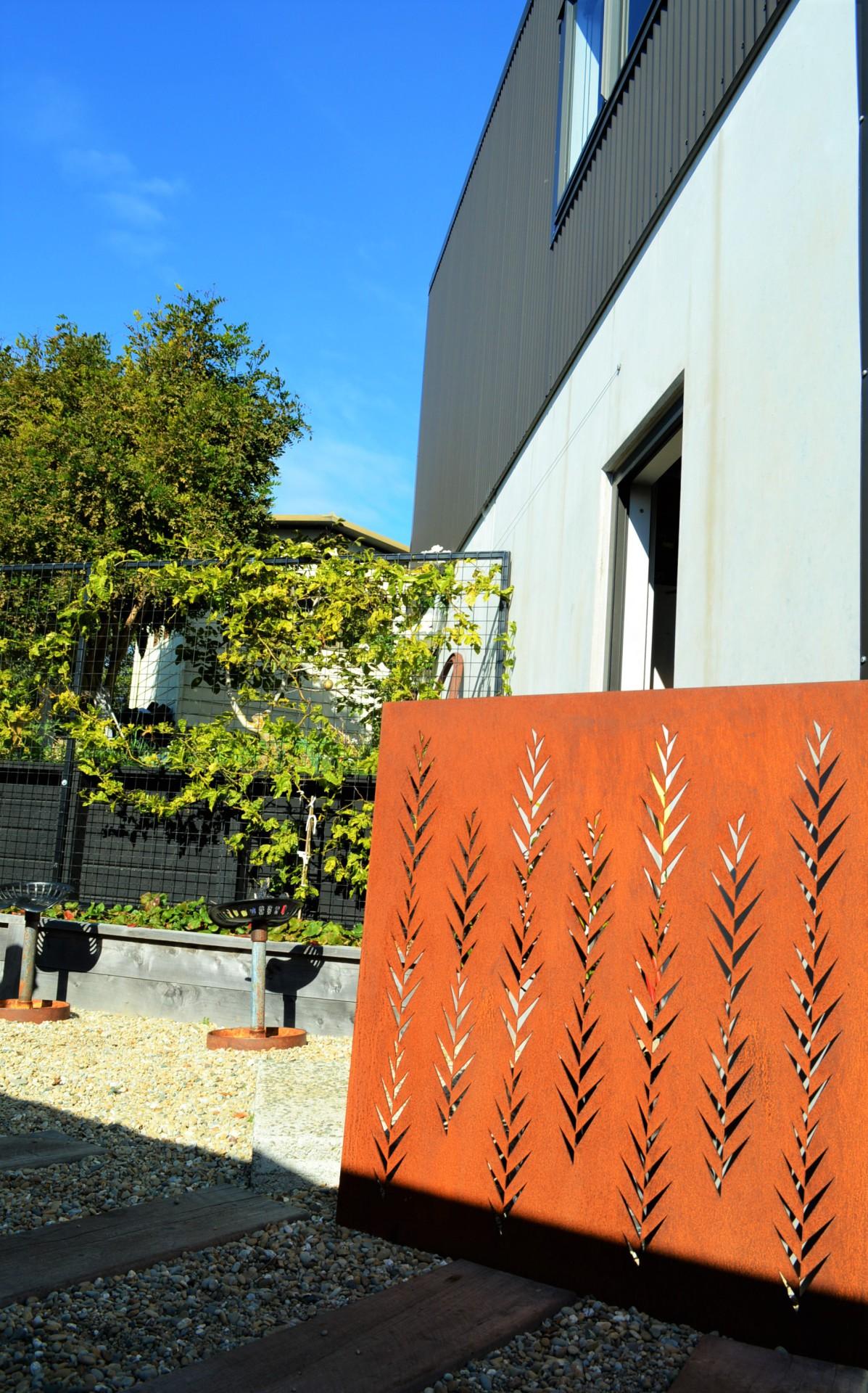 architectural corten panels