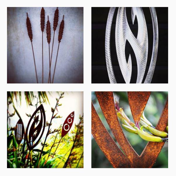metal garden artists grounded art NZ