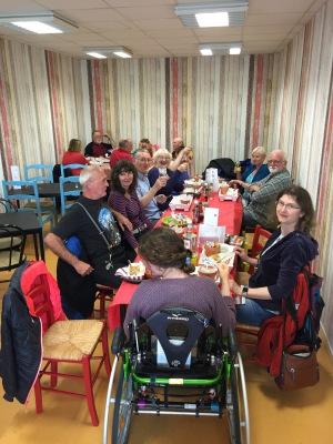 Sunday lunch at the Café Bonbon