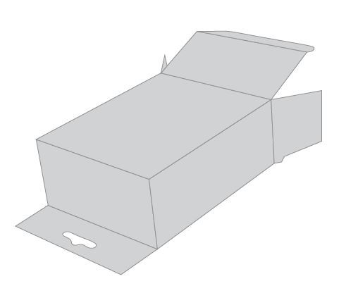 5 Pannel Hanger Carton | GateWay Packaging