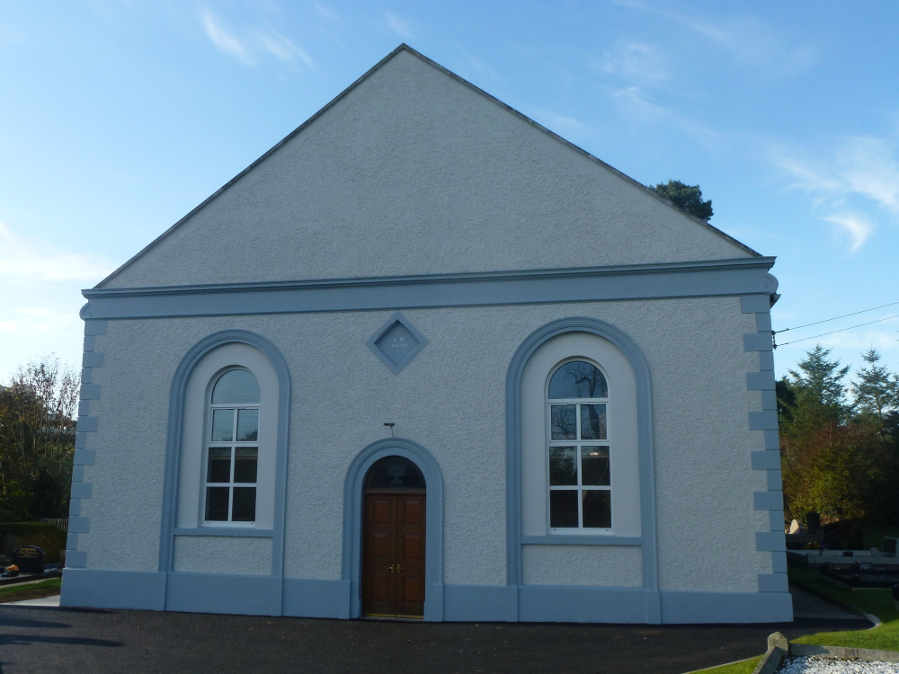 Exterior of Clare Presbyterian Church Tandragee