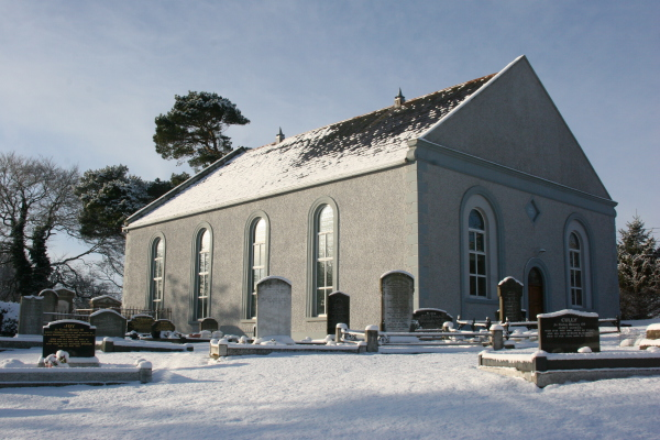 Clare Presbyterian Church Tandragee in winter