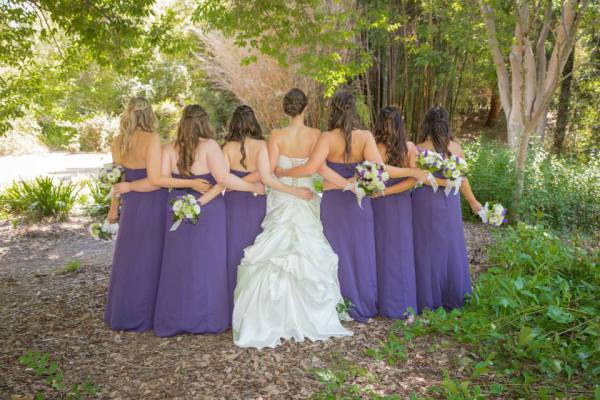 Brittany and Her Bridesmaids
