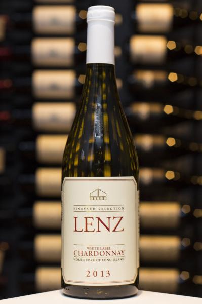 Chardonnay, Vineyard Selection White Label, Lenz $19
