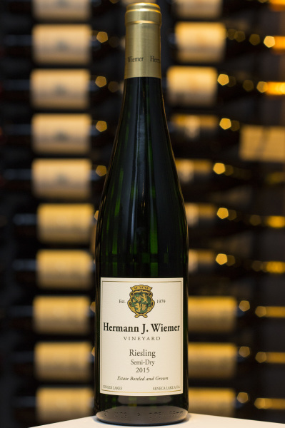 Semi-Dry Riesling, Hermann J Wiemer $26