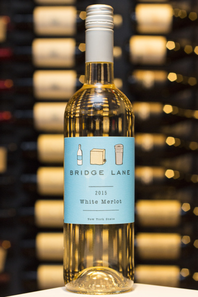 White Merlot, Bridge Lane $18
