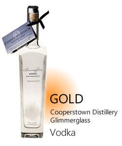 Glimmerglass Vodka, Cooperstown Distillery $31