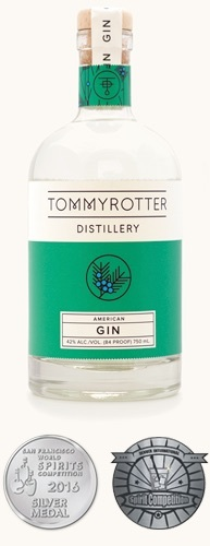 American Gin, Tommyrotter Distillery $45