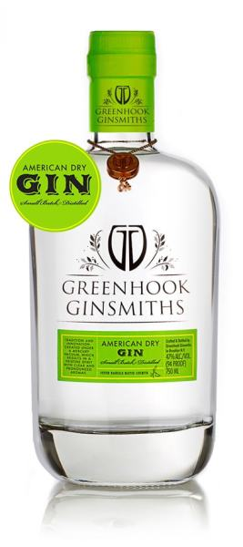 American Dry Gin, Greenhook Ginsmiths $39 / 750mL, $28 / 375mL