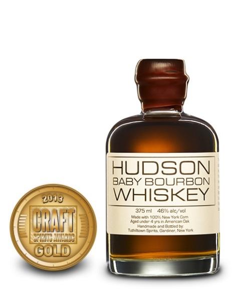 Hudson Baby Bourbon Whiskey, Tuthilltown Spirits $49