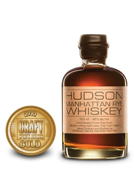 Hudson Manhattan Rye Whiskey, Tuthilltown Spirits $49