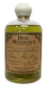 Green Absinthe, Doc Herson's Natural Spirits $45 (375mL),  $14 (100mL)