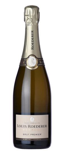 Brut Premier Champagne, Louis Roederer $50 / 750mL, $32 / 375mL, $98 / 1.5L (Magnum)