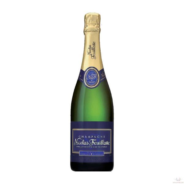 Champagne Brut Reserve, Nicolas Feuillatte $38/750mL, $13/187mL