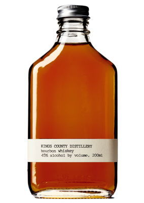 Straight Bourbon, Kings County Distillery $27
