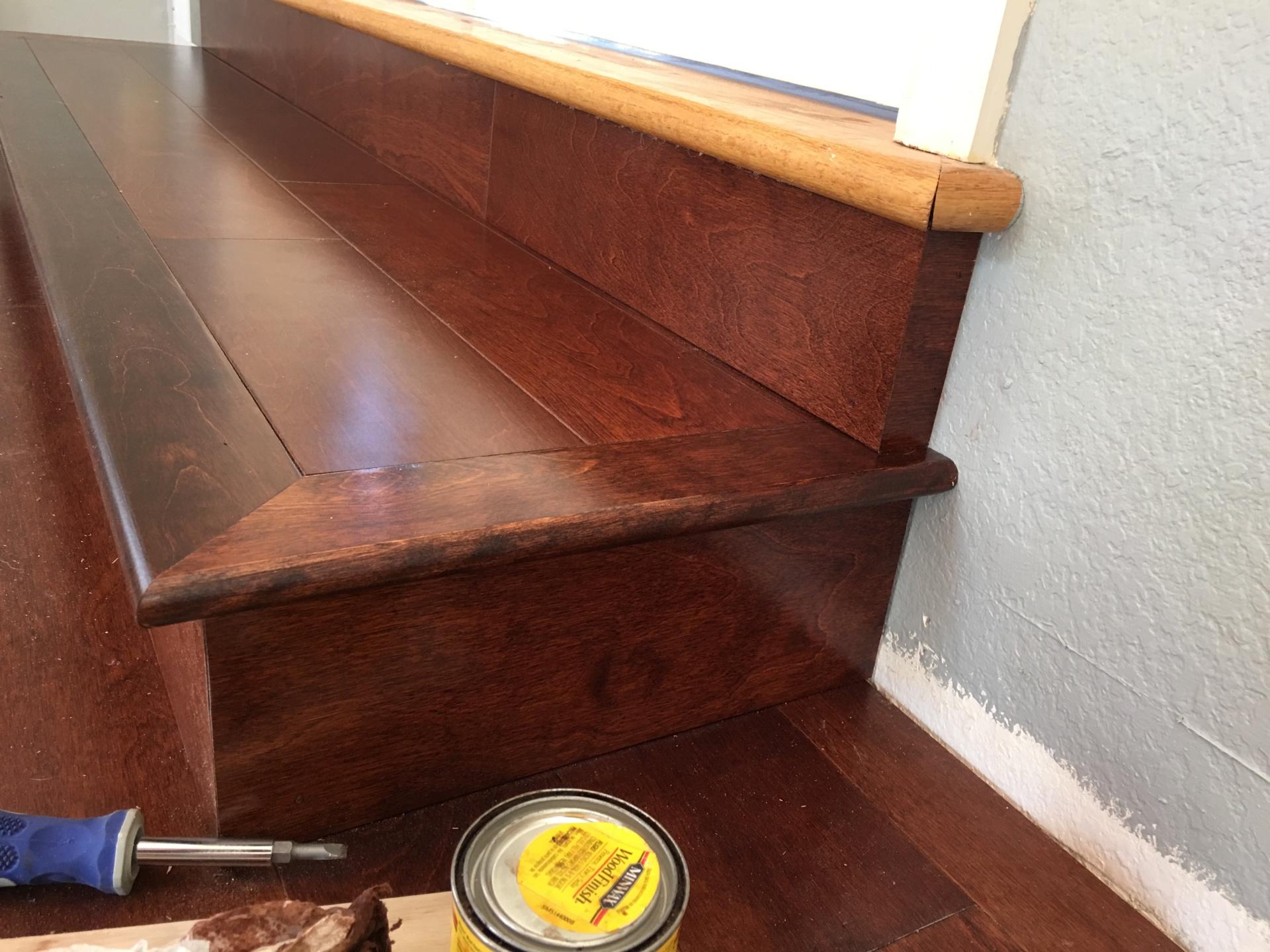 step, steps, birch, engineered, hardwood