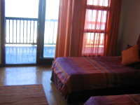 self catering with sea view