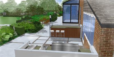 The Terrace | A Sussex Dower House | John Ward Garden Design