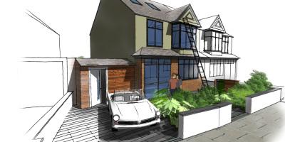 Front Garden | Forest Hill | John Ward Garden Design