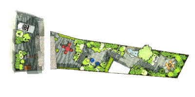 Master Plan | Forest Hill | John Ward Garden Design