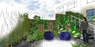 A Terrace to Relax | Forest Hill | John Ward Garden Design
