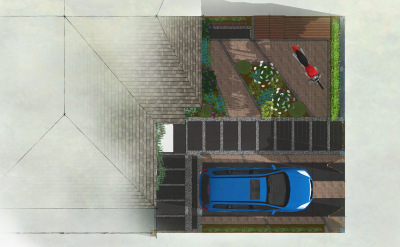 Contemporary Garden | Shepherds Bush Garden Design | Front Garden