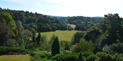 Photo of an impressive view from large listed garden