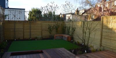 Photo of Acton garden designed by John Ward Garden Design