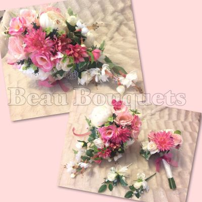 Country Garden Teardrop Bridal 4pc Package £85