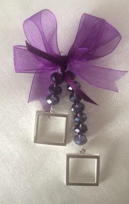 Preciosa crystal Memory Bouquet photo charm Double