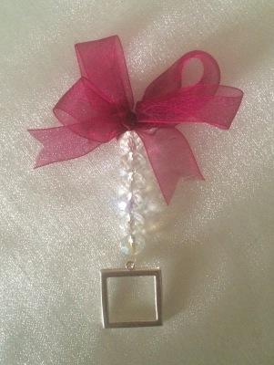 Preciosa Crystal Bouquet memory photo charm single