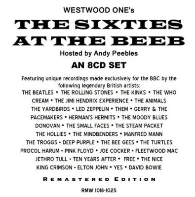 60's At The Beeb Westwood One Radio Show 8CDS - Various Artists