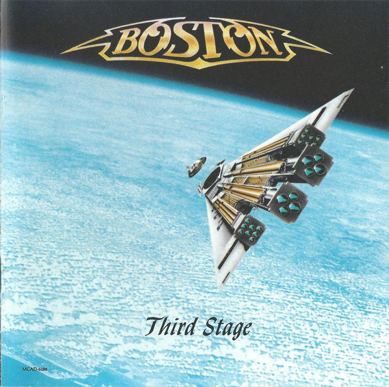 Third Stage (Japanese Pressing) 1986 - Boston