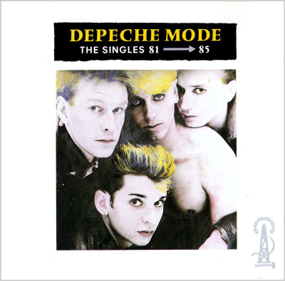 The Singles 81 - 85 (1985) (MUTE Germany 1985) - Depeche Mode