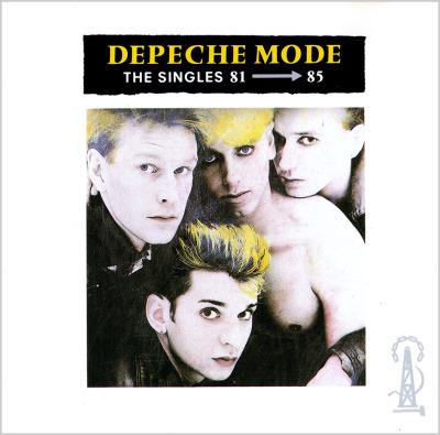 The Singles 81 - 85 (1985) (MUTE Germany 1985) - Depeche Mode