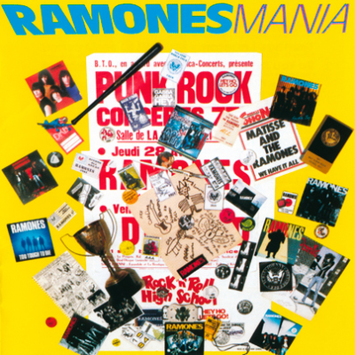 Ramones Mania (1988) [Japananese Pressing] - Ramones