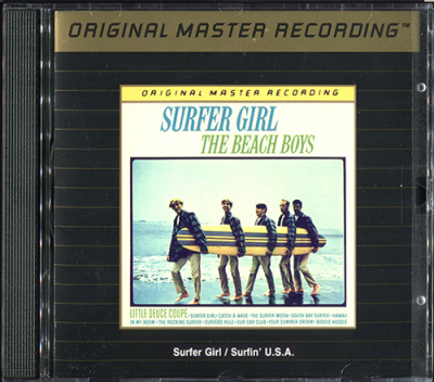 Surfin' U.S.A. & Surfer Girl MFSL (1989) - The Beach Boys