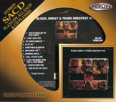 Greatest Hits (SACD) - Blood, Sweat & Tears