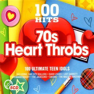 100 Hits 70's Heart Throbs (2016) 5CD's - Various Artists