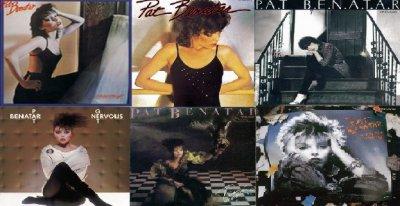 First Six Studio Albums - Pat Benatar
