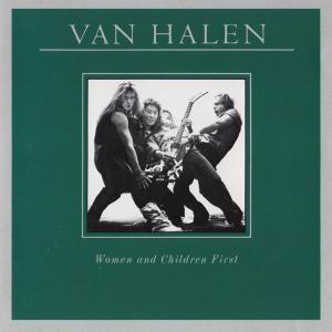 Women And Children First (1980) Japanese - Van Halen