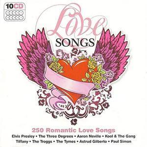 250 Romantic Love Songs (10CD Box Set, 2009) - Various Artists