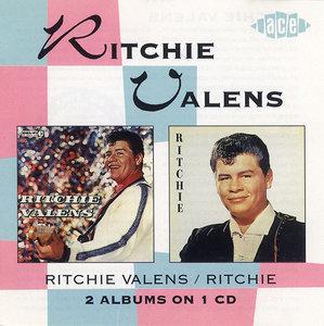 Ritchie Valens & Ritchie (1990) 2 LP on 1 CD - Ritchie Valens