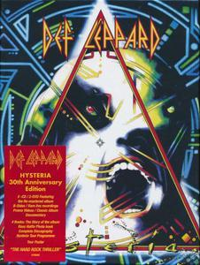 Hysteria (1987) (2017) 5CD 30th Ann Edition - Def Leppard