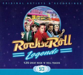 Rock N Roll Legends (2008) 5 CD Box - Various Artists