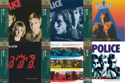 Discography (1978-1992) Japan SA CD's - The Police